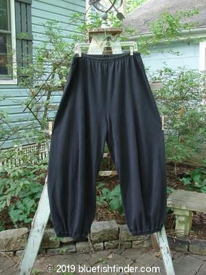 Vintage Blue Fish Clothing Barclay Interlock Radish Pant Ebony Size 2- Bluefishfinder.com