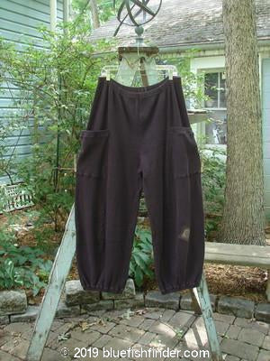 Vintage Blue Fish Clothing Barclay Patched Thermal Honalee Pant Star Flower Nightshade Size 2- Bluefishfinder.com