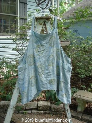 Vintage Blue Fish Clothing Barclay Cotton Banded Apron Continuous Mum Size 2- Bluefishfinder.com