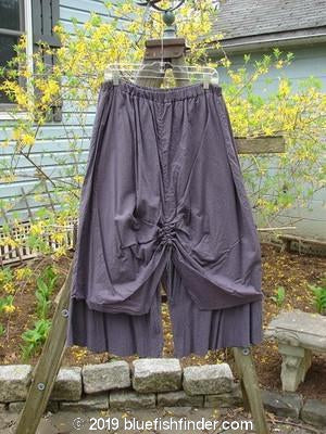 Vintage Blue Fish Clothing Barclay Two Tier Pant Skirt Silk Gauze Plum Size 2- Bluefishfinder.com