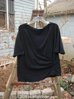 Vintage Blue Fish Clothing Barclay Votive Wrap Top Black Size 1- Bluefishfinder.com