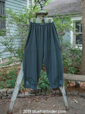 Vintage Blue Fish Clothing Barclay Wave Pant Fan Asian Steel Size 2- Bluefishfinder.com