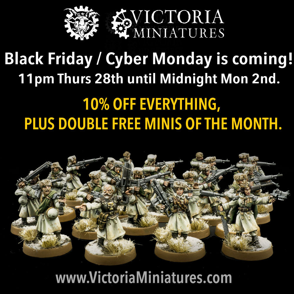 Black Friday / Cyber Monday is coming.