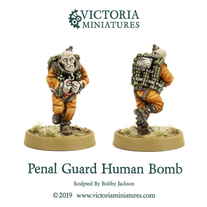 Penal Guard Human Bomb, New Free Mini of the Month.