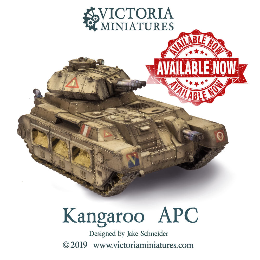 New Kangaroo APC now shipping!
