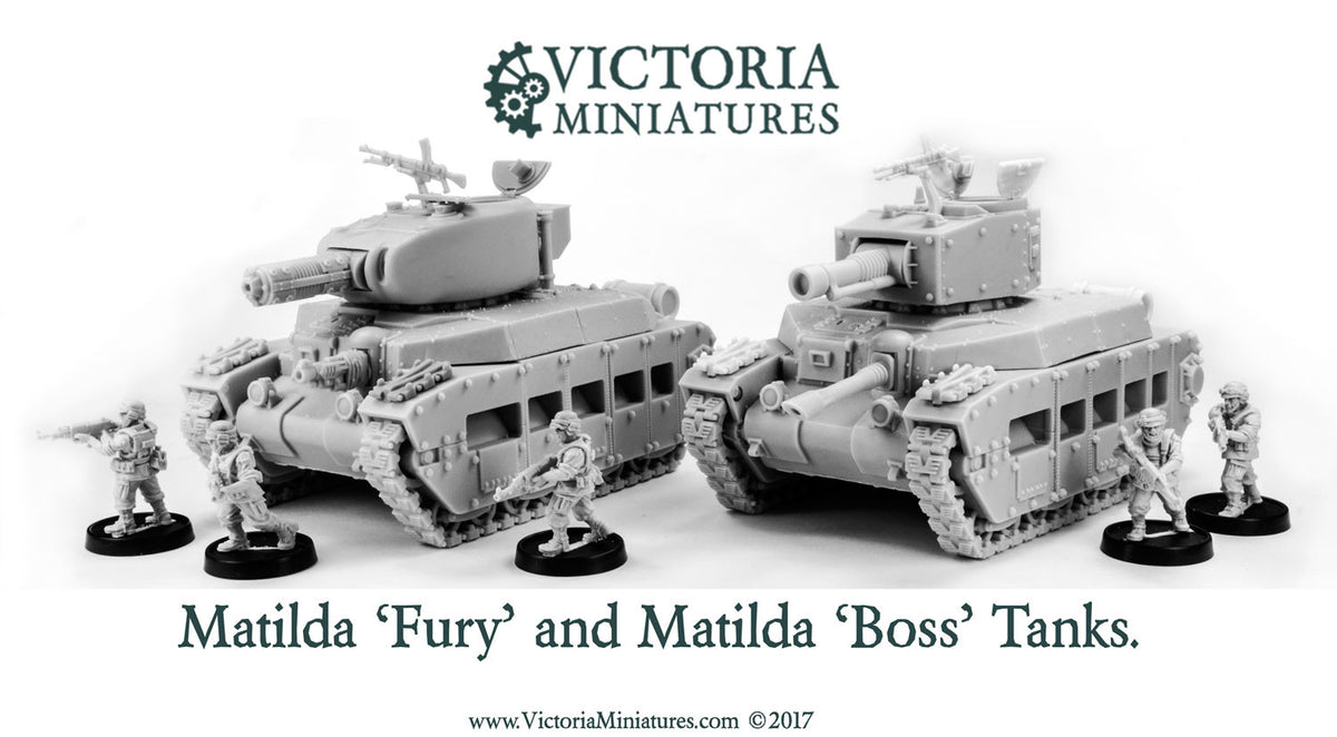 Matilda Tanks Now Open for Pre-Order.