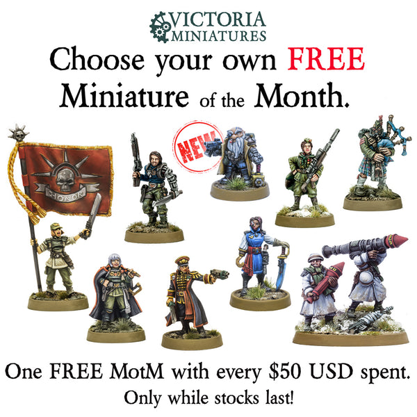 Roli Runeseeker joins the FREE Mini of the Month collection.
