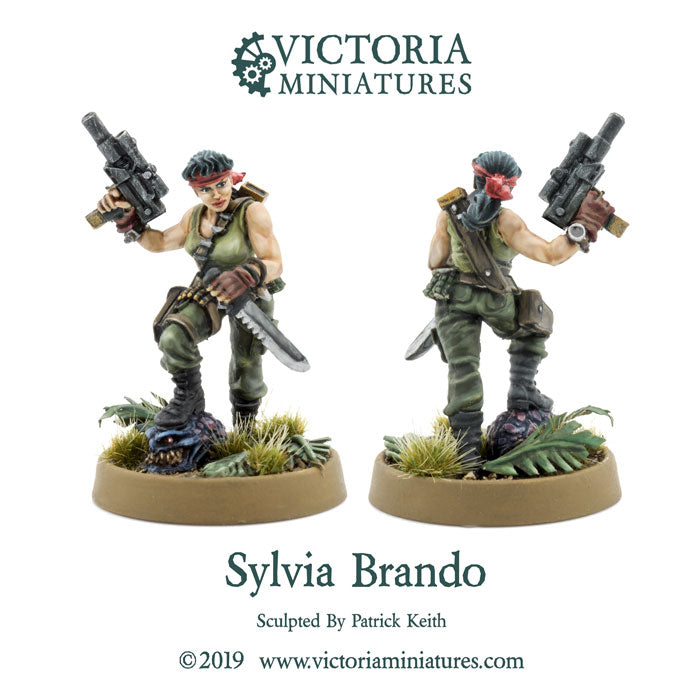 Sylvia Brando, New Free Mini of the Month.