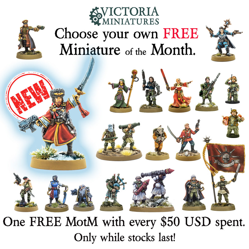 New Free Miniature of the Month