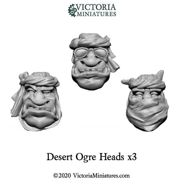 Desert Ogre Heads Now shipping