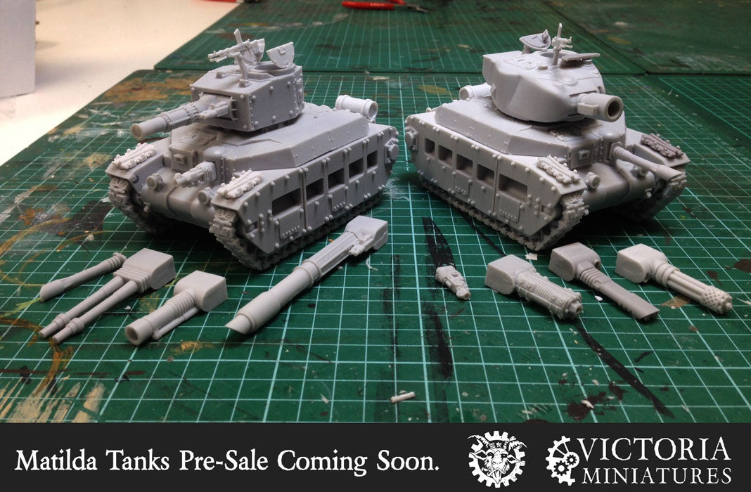 Matilda Tank Pre-Sale Coming Soon