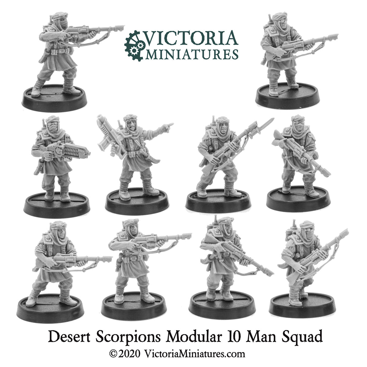Desert Scorpions Now Shipping.