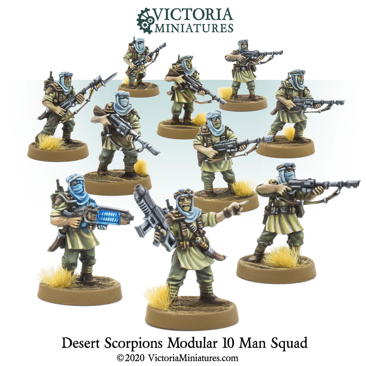 Desert Scorpions 10 Man Squad Now Shipping.