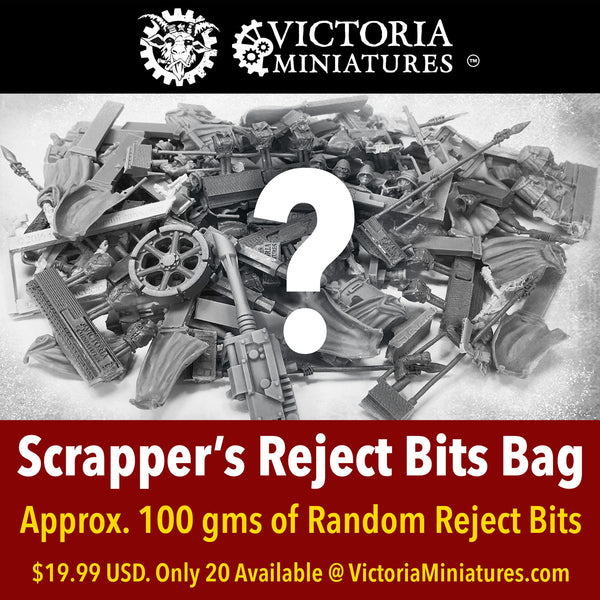 Bag of Reject Bits, only 20 available, don't miss out!