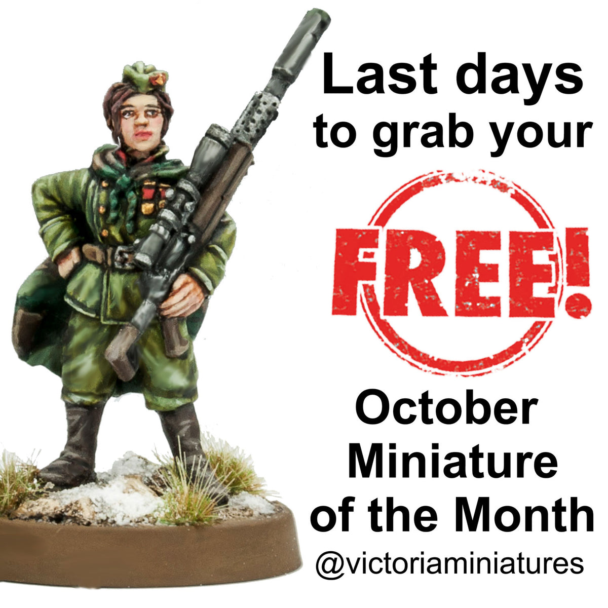 Last Days, for Free October Miniature of the Month.
