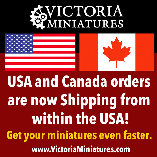 US and Canada orders now shipping from the US.