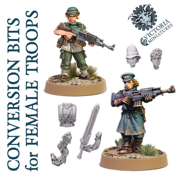 Conversion Bits for Female Troops