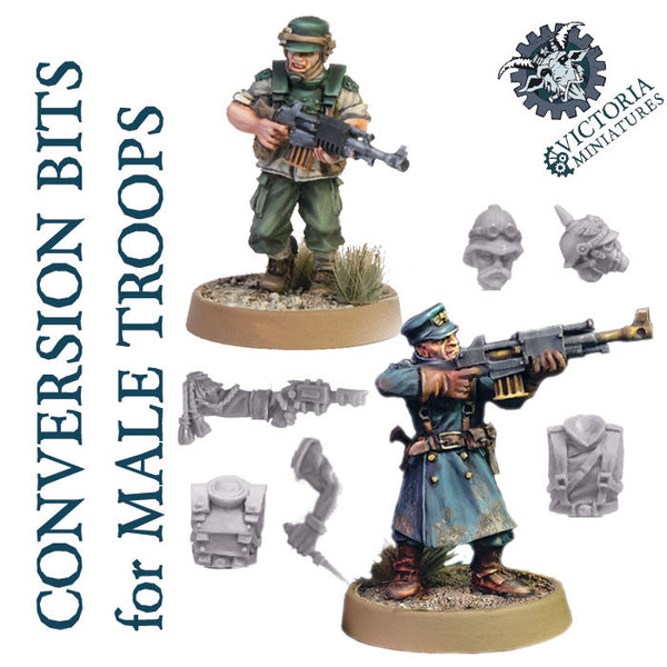 Conversion Bits for Male Troops