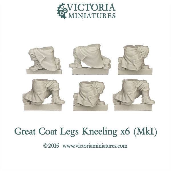 Great Coat Legs Kneeling (Mk1)
