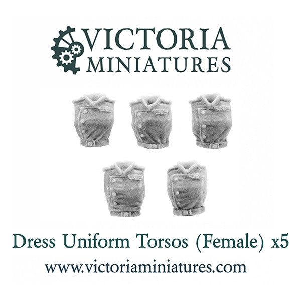 Female Dress Uniform Torsos.