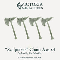 'Scalptaker' Chain Axe x4