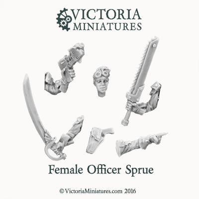 Female Officer Sprue