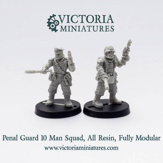 Penal Guard 10 Man Close Combat Squad