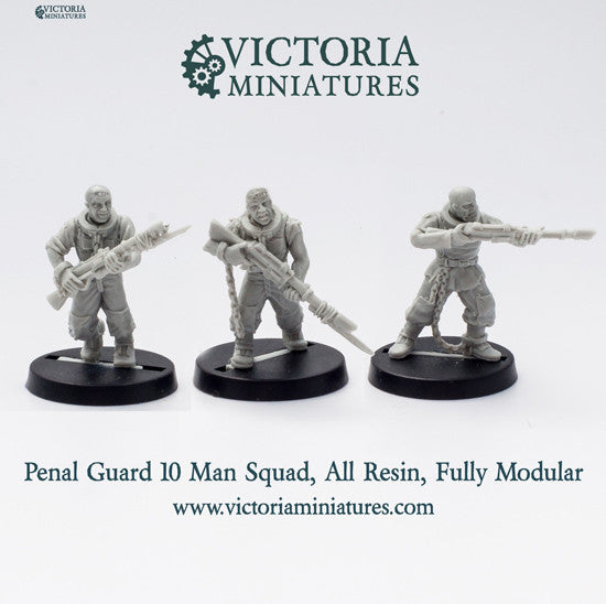 Penal Guard 10 Man Squad