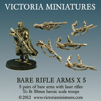 Bare Laser Rifle Arms (5 pairs)