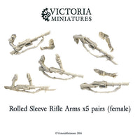 Female Rolled Sleeve Arms (5 pairs)