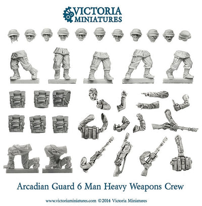 Arcadian Heavy Weapon Crew (Male)