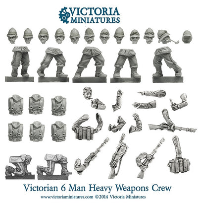 Victorian Heavy Weapons Crew