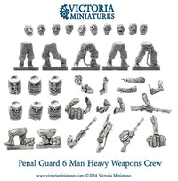 Penal Guard Heavy Weapons Crew
