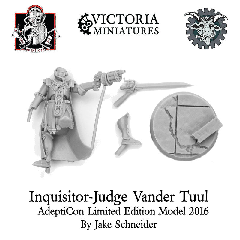 2016 AdeptiCon Limited Edition, Inquisitor-Judge Vander Tuul.