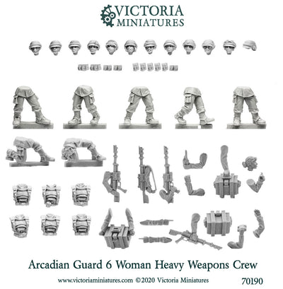 Arcadian Heavy Weapon Crew (Female)