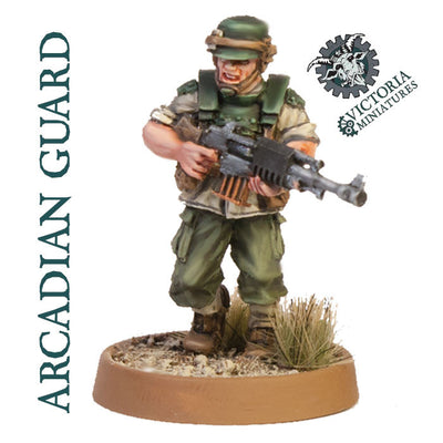 Arcadian Guard 5 Man Squad.