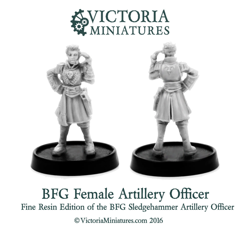 BFG Artillery Officer (Resin)