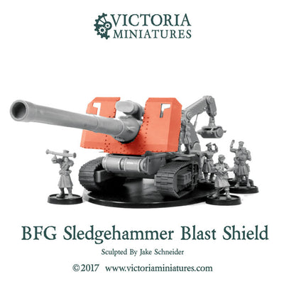 Sledgehammer BFG Blast Shield