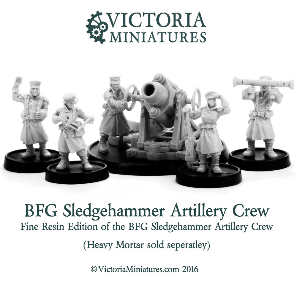 BFG Heavy Artillery Crew (Resin)