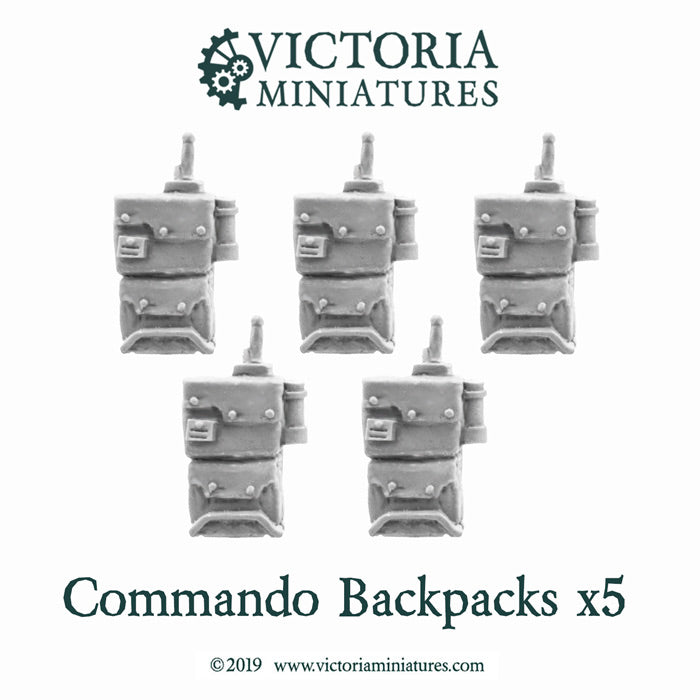 Commando backpacks x5