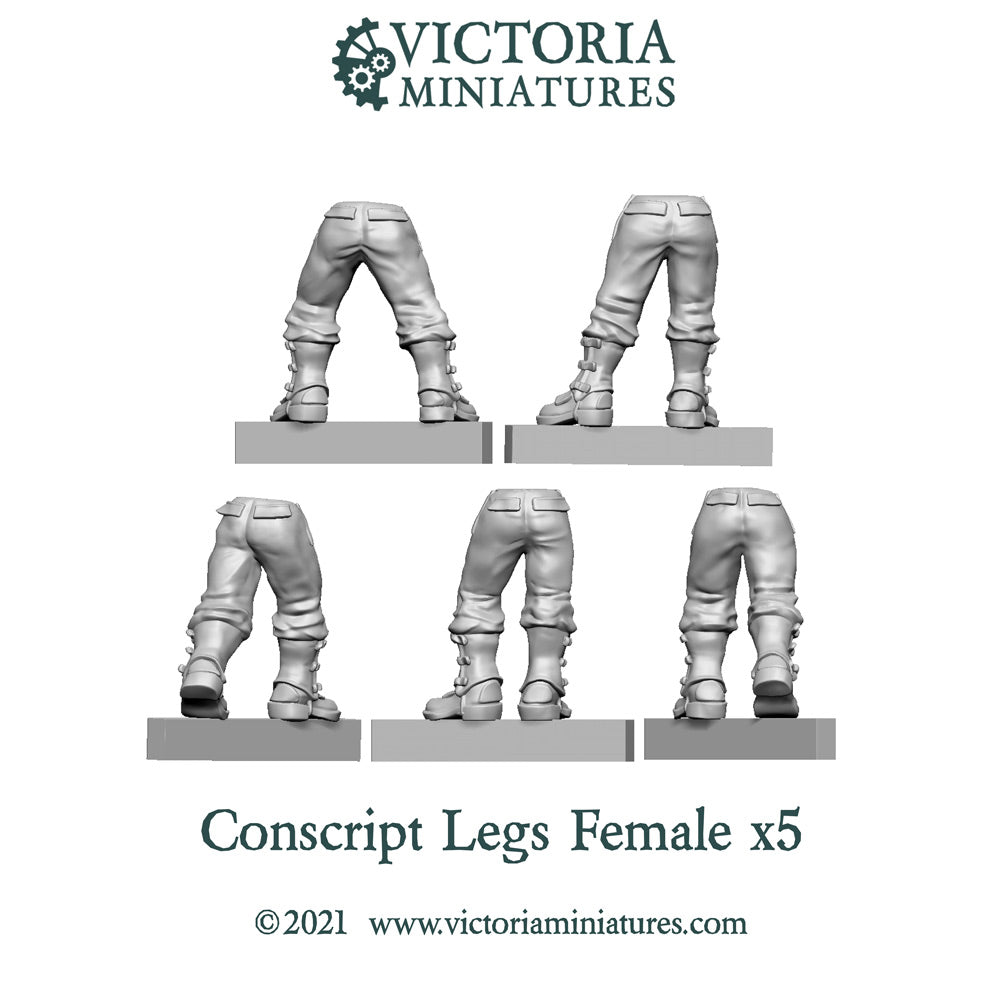 Conscript Legs x5  (Female)