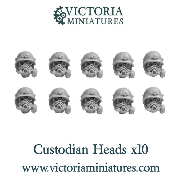 Custodian Heads x10 (male)