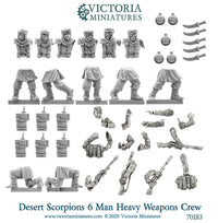 Desert Scorpions Heavy Weapons Crew