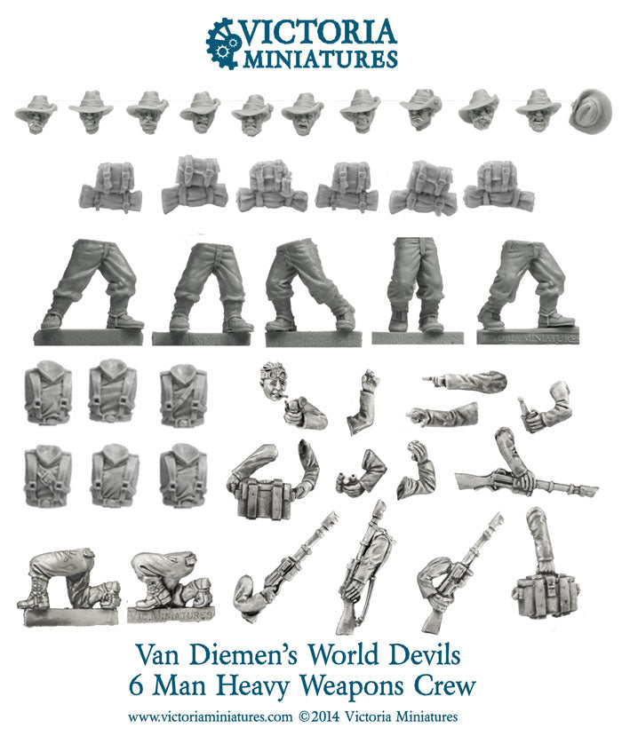 Van Diemen's Worlds Devils Heavy Weapons Crew
