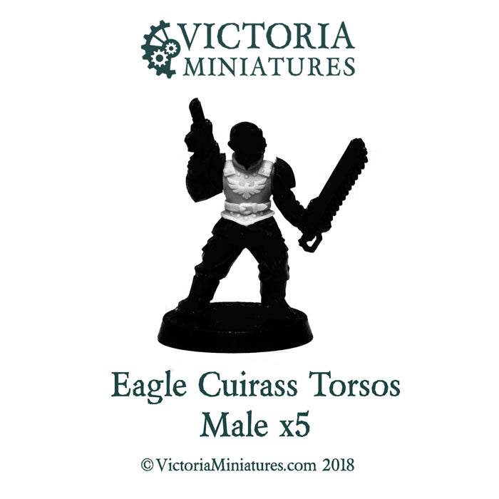 Eagle Cuirass Torsos x5 (male)