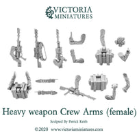 Heavy Weapon Crew Arms (female)