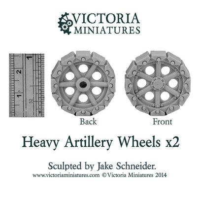 Heavy Artillery Wheels