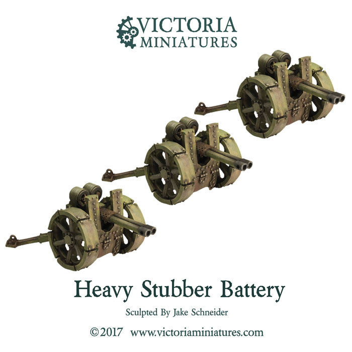Heavy Twin Stubber Battery (Heavy twin stubber x3)