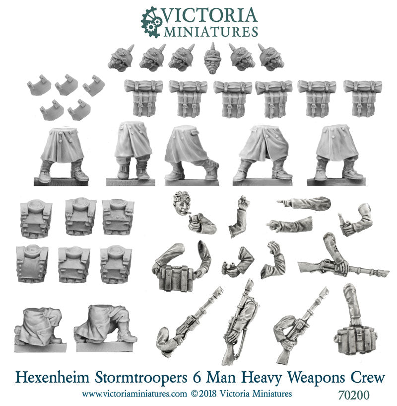 Hexenheim Storm Troopers Heavy Weapons Crew
