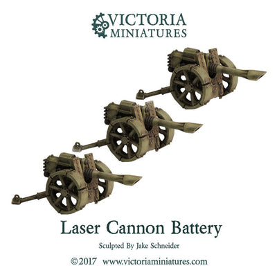 Laser Cannon Battery (Laser Cannon x3)
